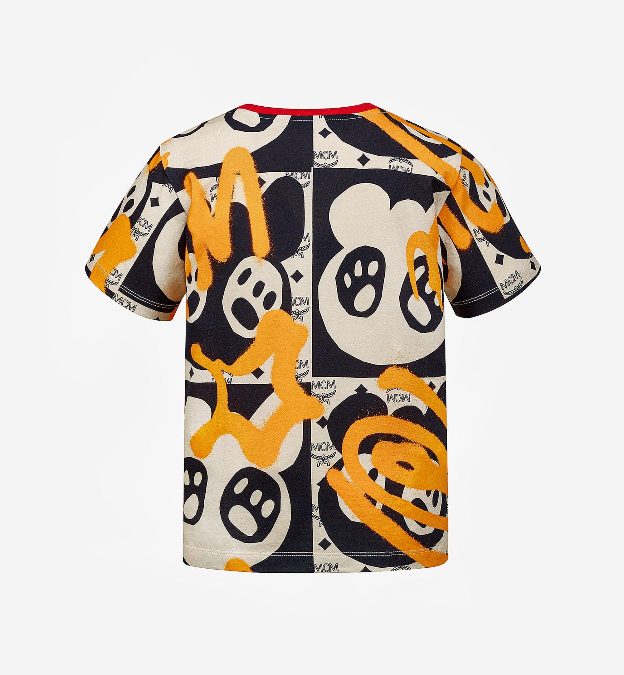 MCM 兒童 Berlin Bear 卡通 T 恤 Multi MBTAAMM01I304Y 更多視圖 1