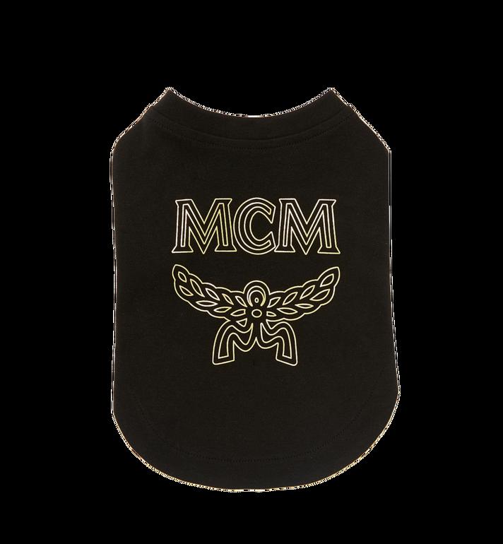 MCM Logo Dog T-Shirt MCT8SVP03BK0XL AlternateView2