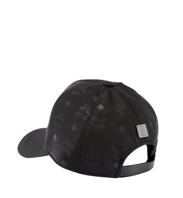 MCM Classic Cap in Monogram Nylon MEC7AMM01BK001 AlternateView2