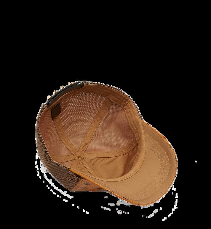 MCM Classic Mesh Cap in Visetos Cognac MEC7S2K10CO001 Alternate View 3