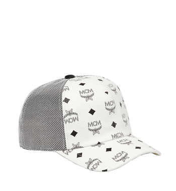 MCM Classic Mesh Cap in Visetos MEC7S2K10WT001 AlternateView