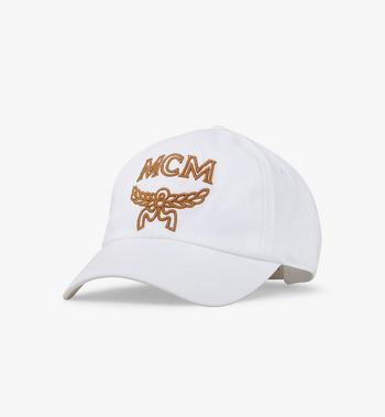 MCM Basic Logo Cap MEC8AMM03WT001 AlternateView