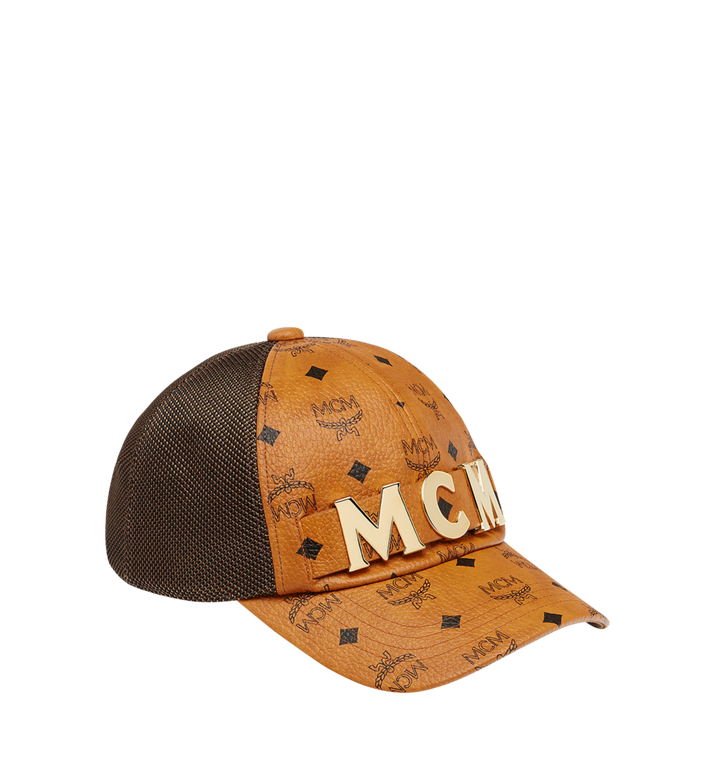 MCM MCM Letter Mesh Cap in Visetos Alternate View 1