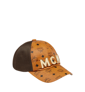 MCM MCM Letter Mesh Cap in Visetos Alternate View