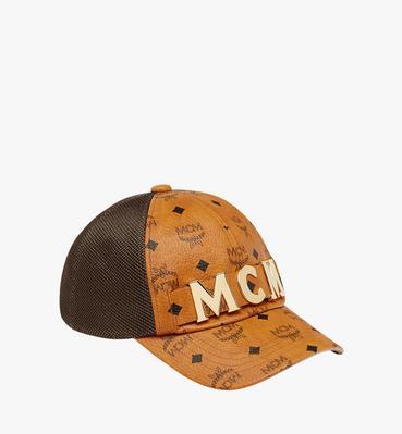 bd7681501ed MCM Letter Mesh Cap in Visetos