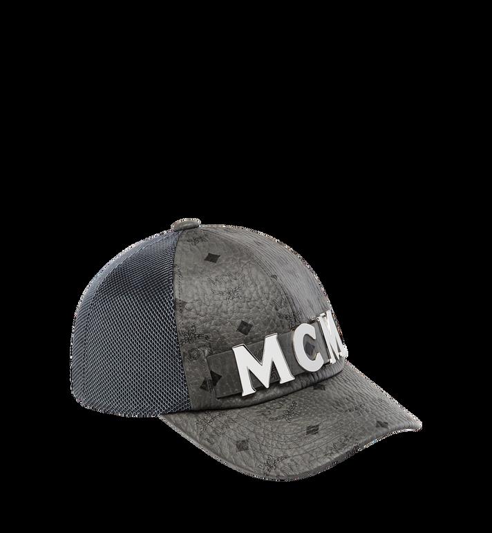 MCM MCM Letter Mesh Cap in Visetos MEC8AMM14EG001 AlternateView
