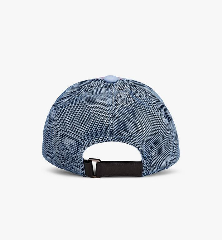 MCM Classic Mesh Cap in Visetos Blue MEC9A2K10H2001 Alternate View 2