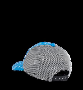 MCM Classic Mesh Cap in White Logo Visetos Alternate View 2