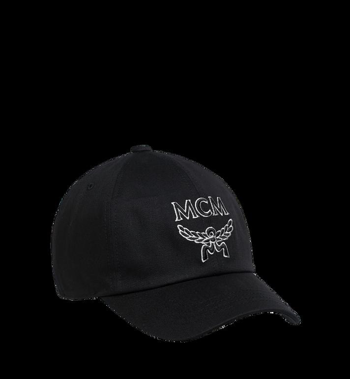 MCM Basic Logo Cap MEC9S2K02BK001 AlternateView