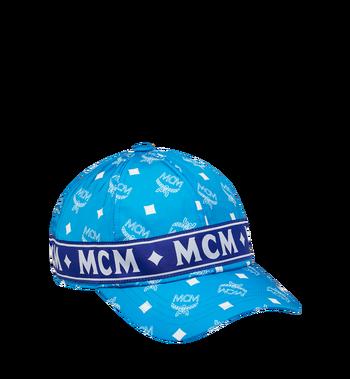 MCM ロゴテープ 5パネル キャップ Alternate View