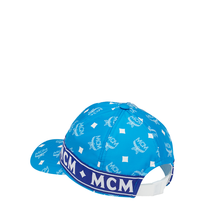 MCM Logo Tape 5-Panel Cap Blue MEC9S2K05HI001 Alternate View 2
