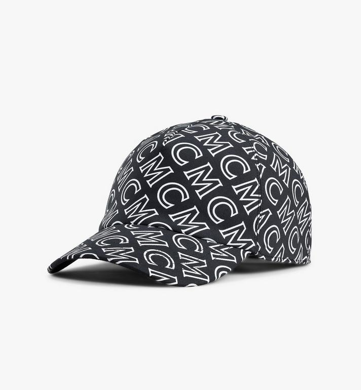 MCM Monogram Cotton Cap Alternate View