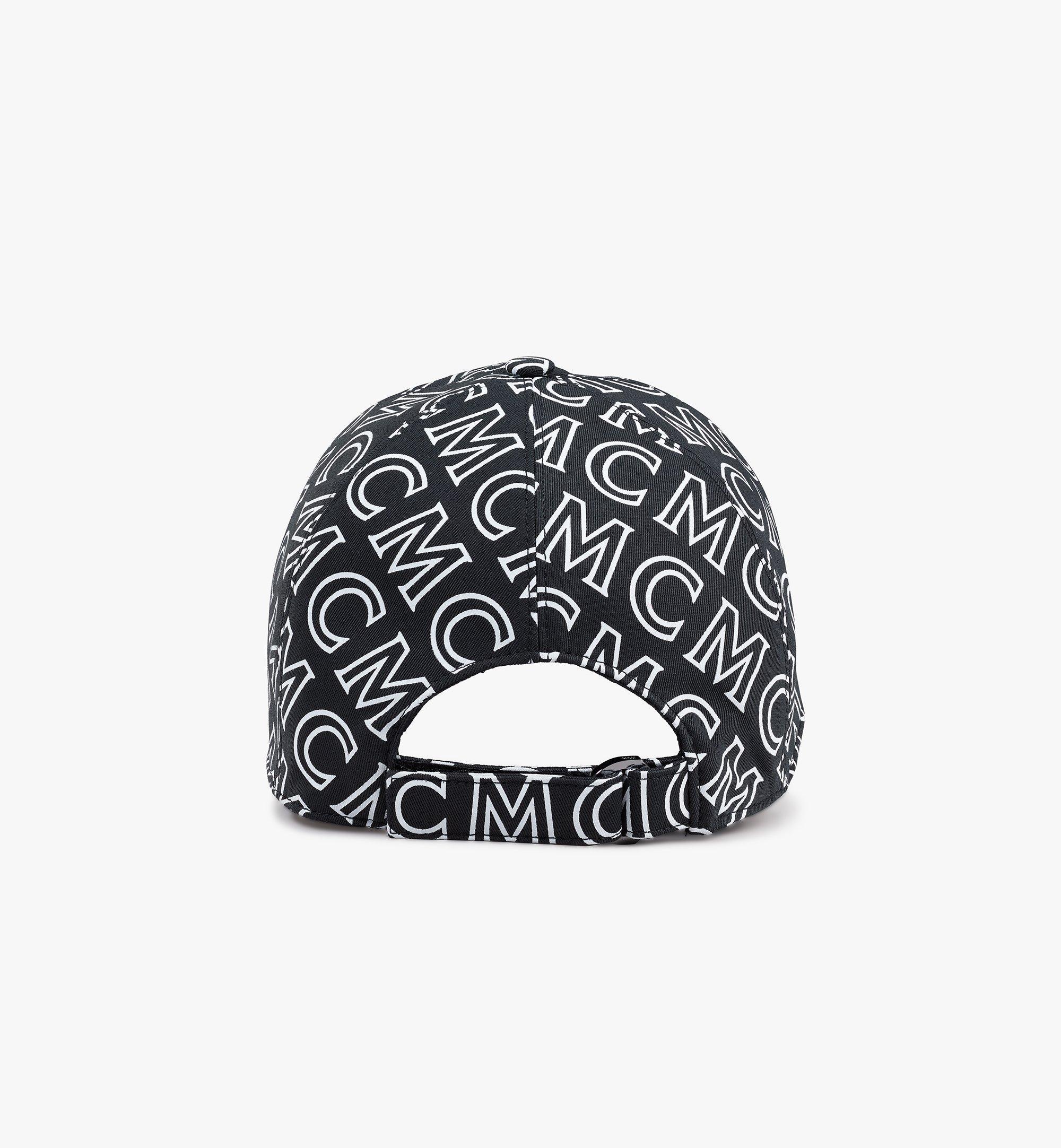 MCM Baumwollkappe mit Monogramm Black MECAAMD01B4001 Noch mehr sehen 1