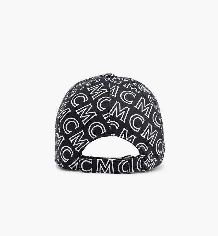 MCM Monogram Cotton Cap Blue MECAAMD01B4001 Alternate View 2