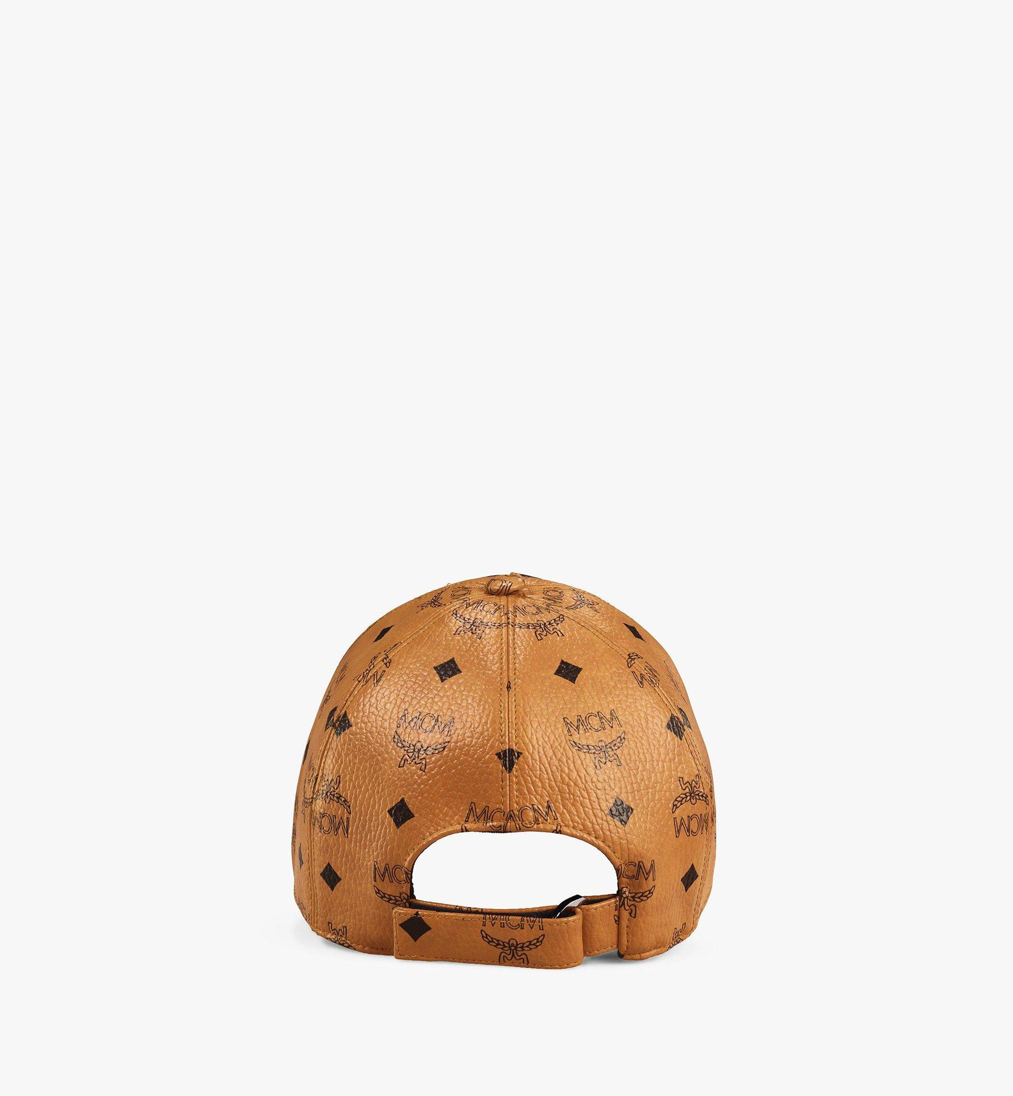 MCM Visetos 系列經典帽 Cognac MECAAMM02CO001 更多視圖 1