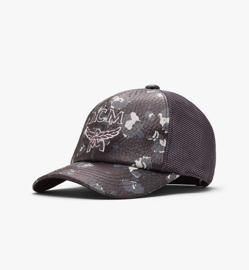 Floral Leopard Mesh Cap