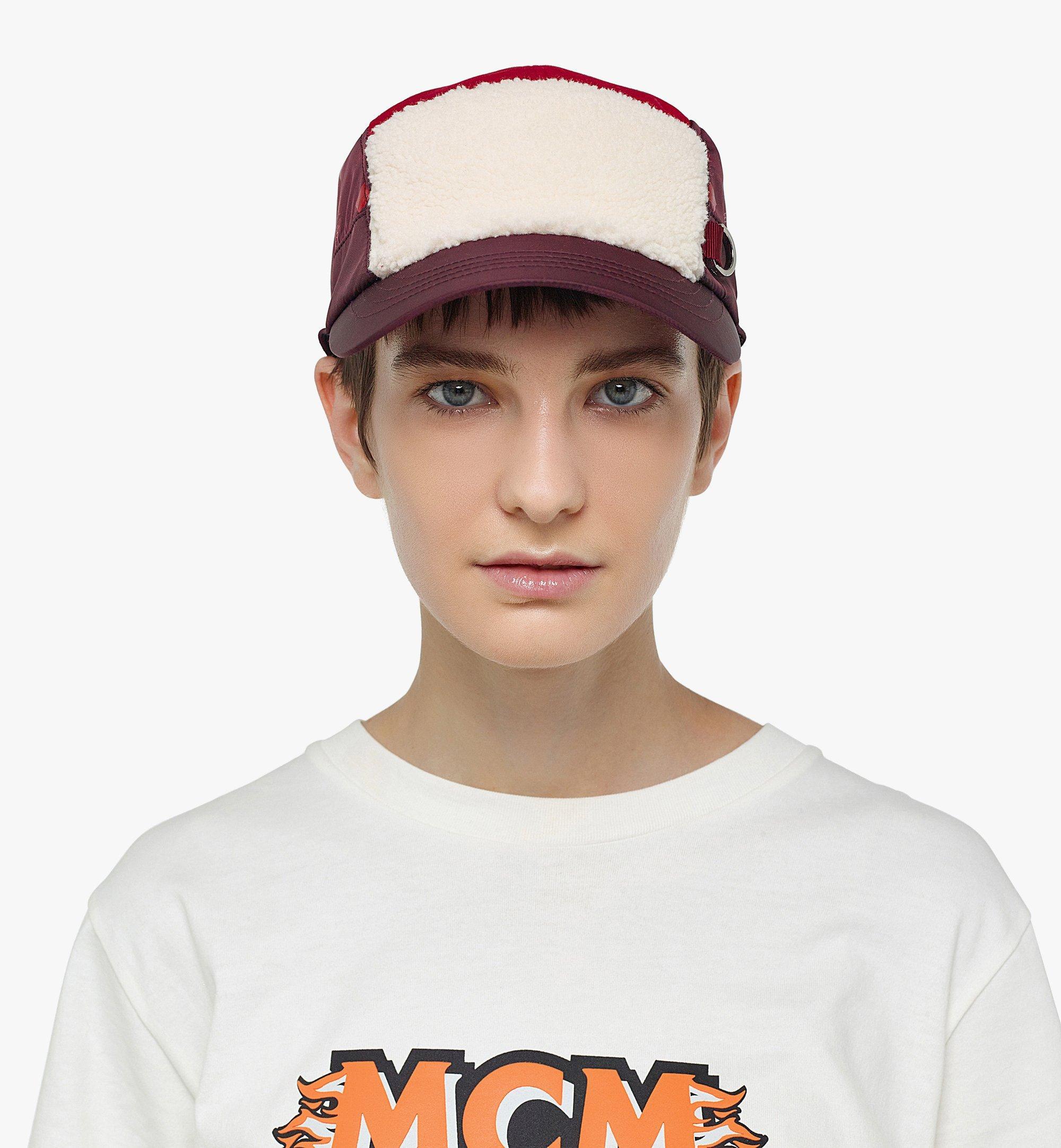 MCM Kappe mit Kunstfell-Element Red MECBAMM03R0001 Noch mehr sehen 2