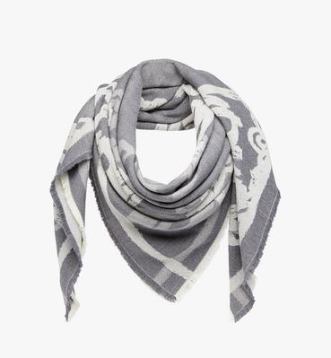 オールオーバー ロゴ ジャカード スカーフ