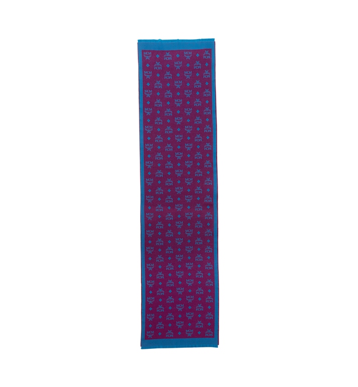 MCM Monogram Jacquard Wool Stole MEF8AMM16UK001 AlternateView2