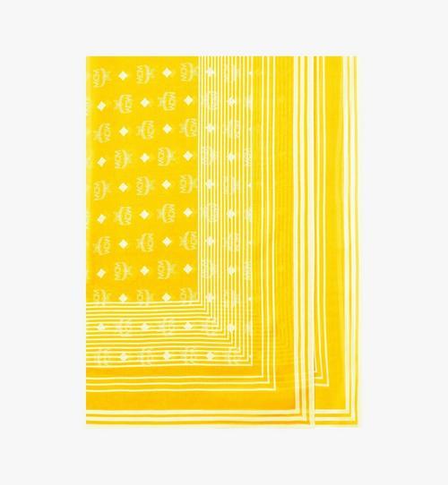 Visetos Stripe Scarf in Modal Silk