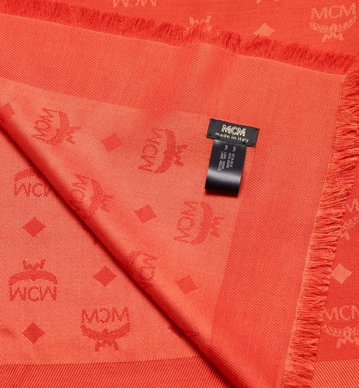 MCM Monogram Jacquard Scarf Alternate View 2