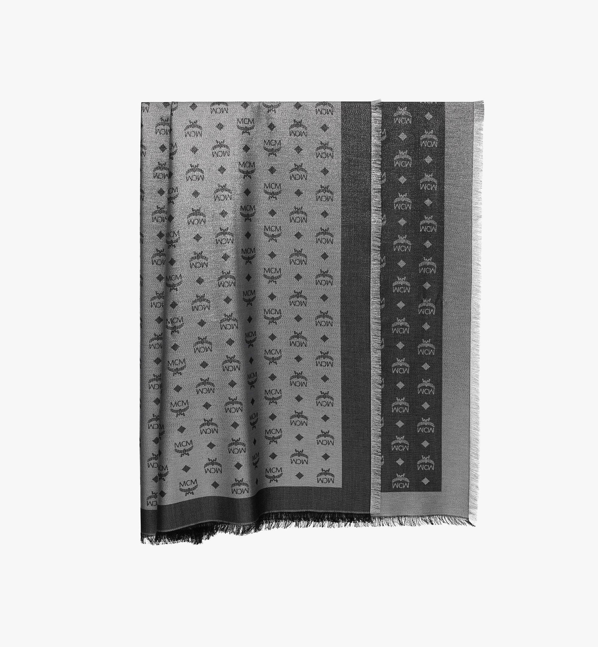 MCM モノグラム ルレックス スカーフ Silver MEF9AMM02SV001 Alternate View 1