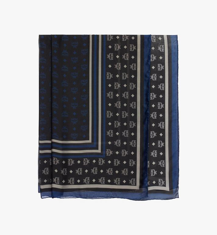 MCM Monogram Chiffon Scarf Alternate View