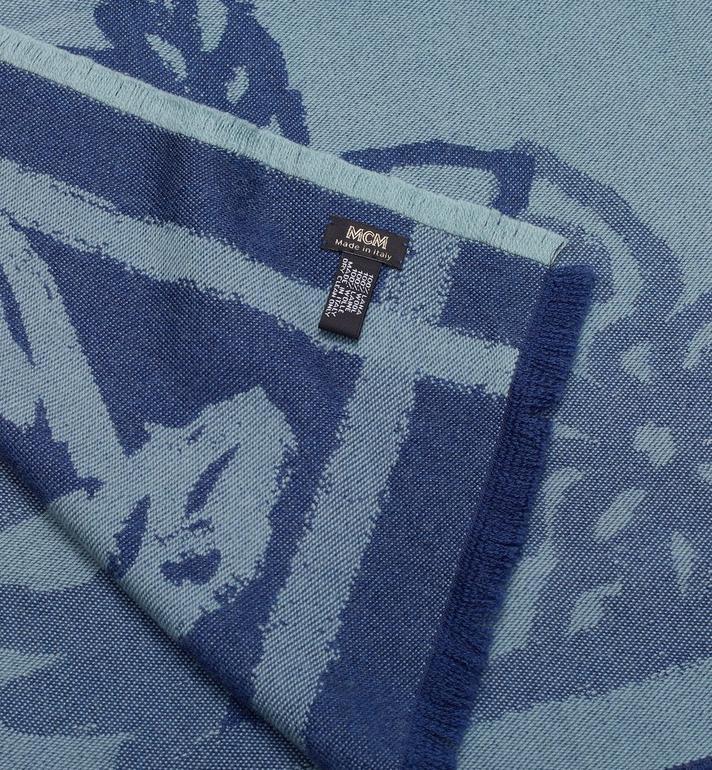 MCM Écharpe jacquard à logo imprimé  MEF9AMM05G7001 Alternate View 2