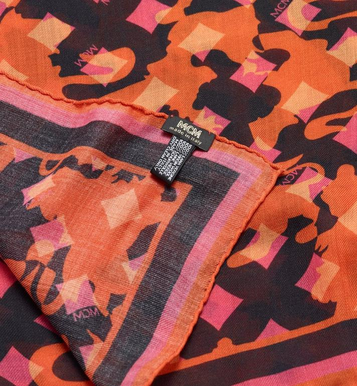 MCM Camo Print Stole Alternate View 2