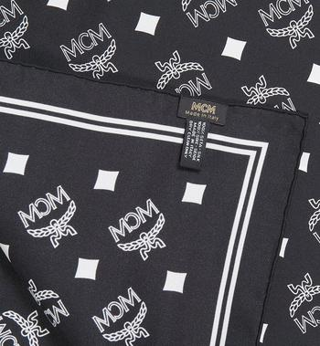 MCM Logo Print Bandana Scarf Alternate View 2