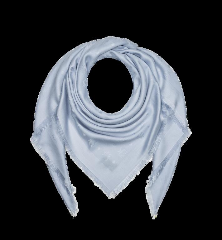 MCM Jacquard-Schal aus Seide und Wolle mit Monogramm Alternate View