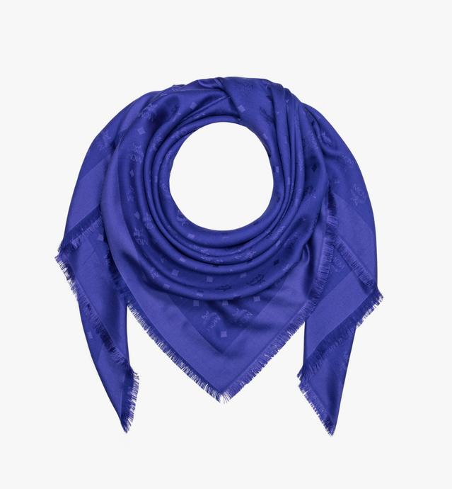 Monogram Silk and Wool Jacquard Scarf