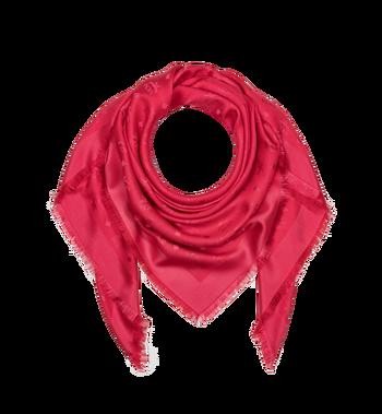 MCM Monogram Silk and Wool Jacquard Scarf Alternate View