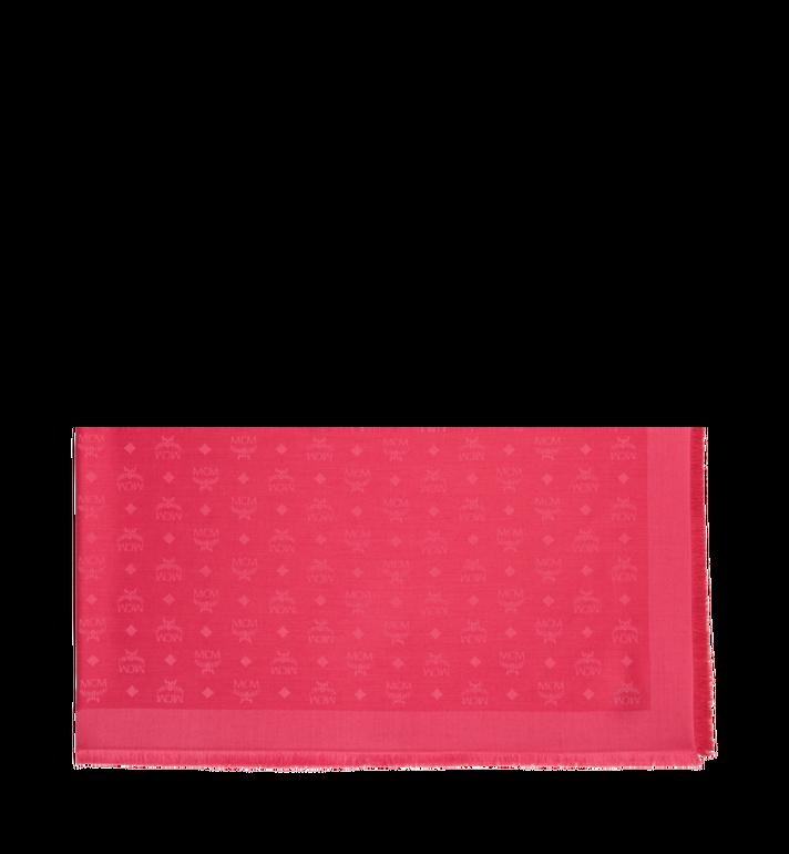MCM Jacquard-Schal aus Seide und Wolle mit Monogramm Alternate View 2