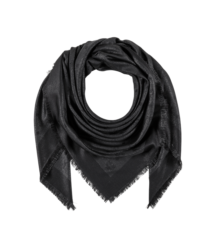 MCM Monogram Lurex Scarf Alternate View