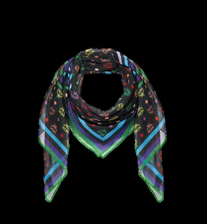 MCM Monogram Silk and Modal Scarf Alternate View
