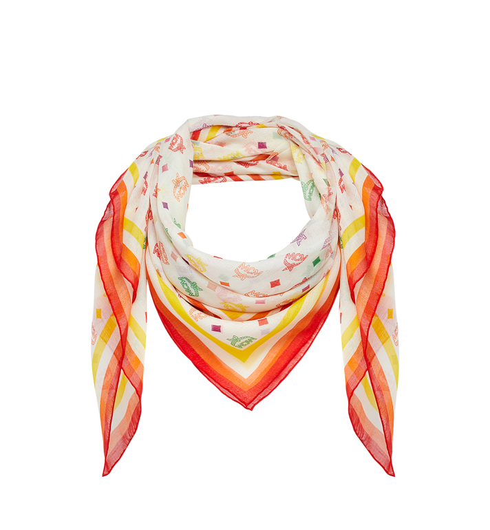 MCM Monogram Silk and Modal Scarf AlternateView