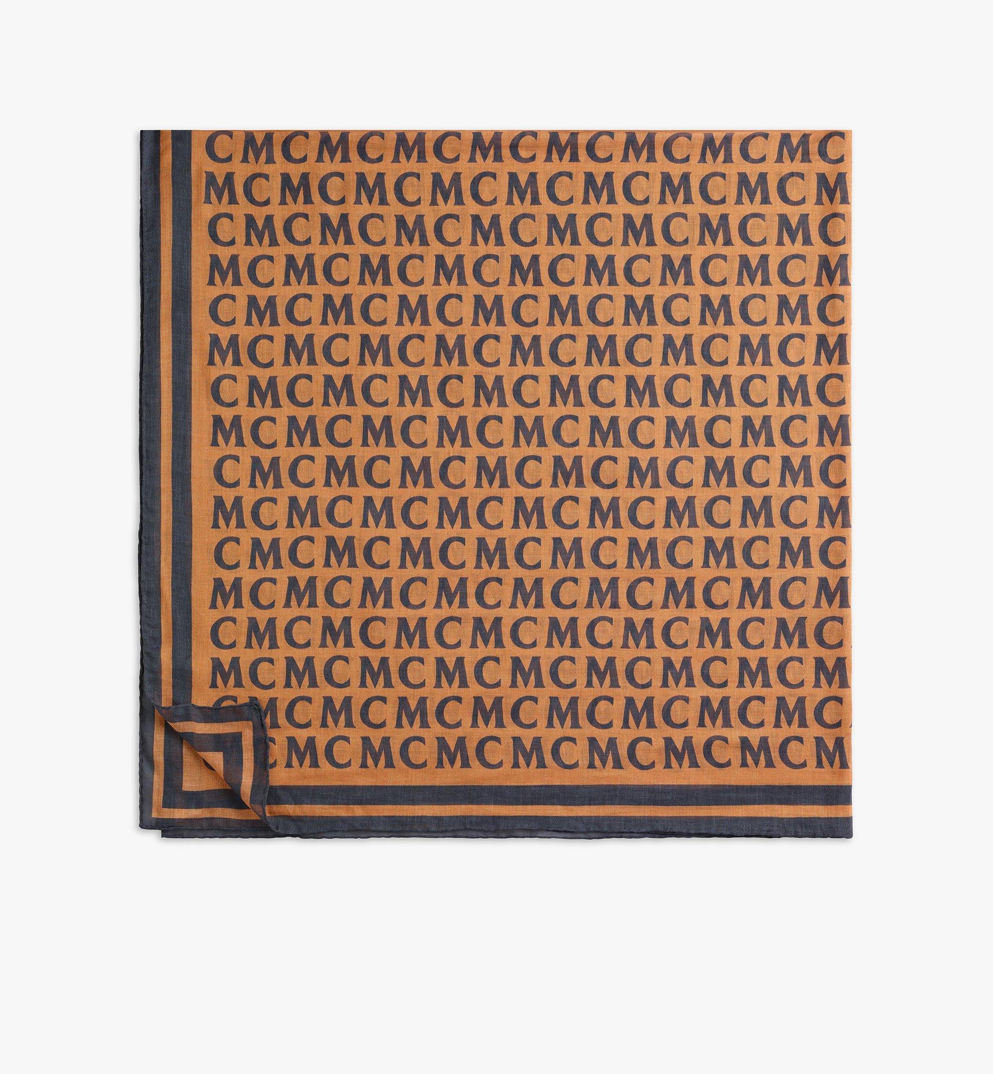MCM MCM Monogram Shawl Cognac MEFAAMD09C4001 Alternate View 1