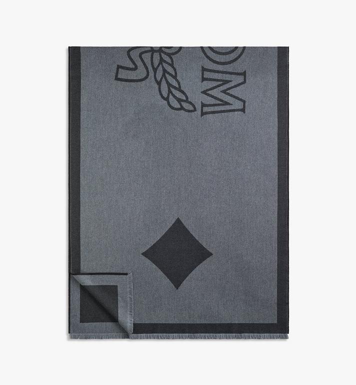 MCM Classic Logo Wool Stole Alternate View