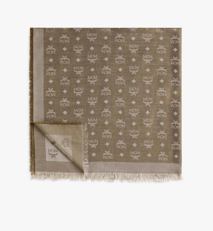 MCM Jacquard Monogram Scarf Alternate View