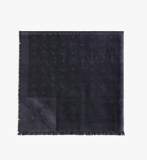 Lurex-Halstuch mit Monogramm