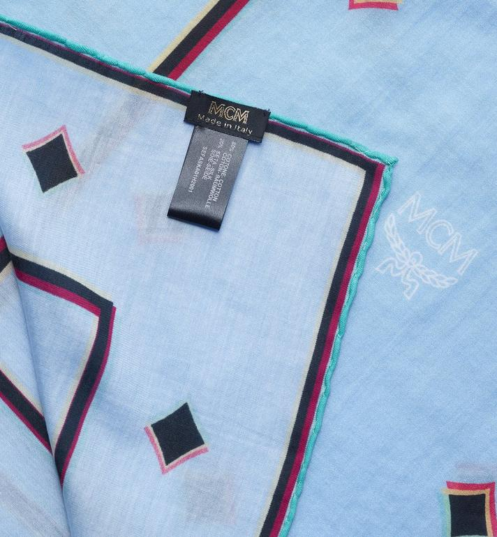 MCM ディスコ ダイアモンド バンダナスカーフ Blue MEFASKA01H2001 Alternate View 2