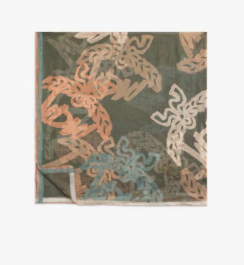 Abstrakter Monogramm-Schal
