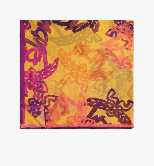 アブストラクト モノグラム スカーフ