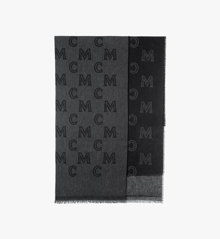 MCM Monogram Jacquard Stole Alternate View