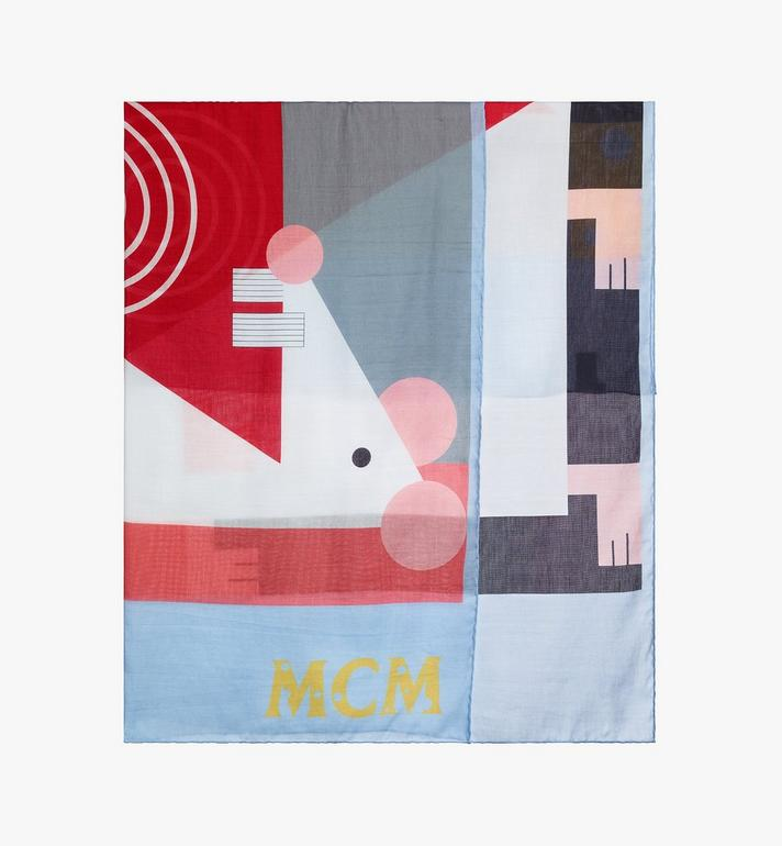 MCM Year Of The Mouse Bandana Blue MEFASSE03H2001 Alternate View 2