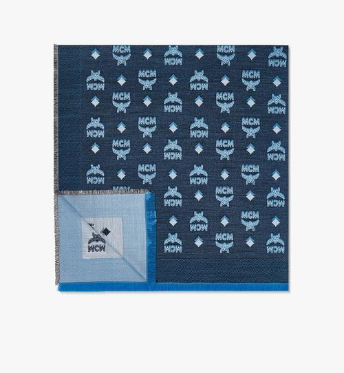 バイカラー ジャカード モノグラムスカーフ