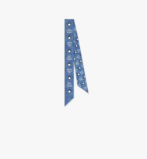 ヴィンテージ モノグラム シルクツイリースカーフ