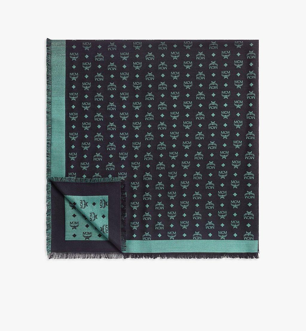 MCM Schal aus Lurex mit Farbverlauf-Monogramm Green MEFBSMM07JQ001 Noch mehr sehen 1