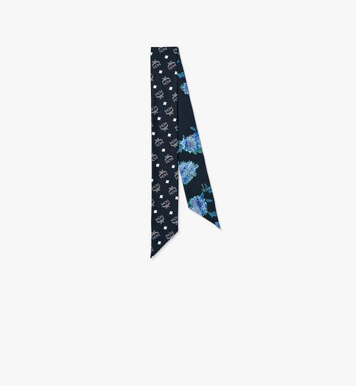 テックフラワー シルク ツイリースカーフ